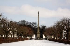 Obelisk im Circus  von Putbus